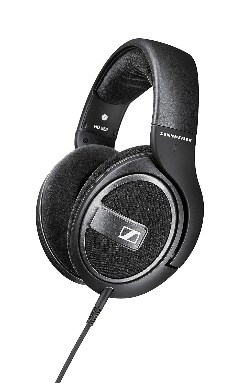 Sennheiser HD 559 Open Back Headphones  Black  Over Ear