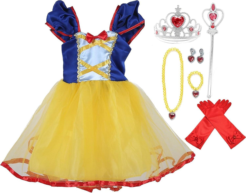 SweetNicole Princess Cinderella bluee Party Costume Dressup Set