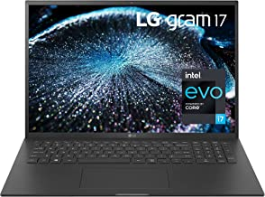 "LG Gram 17Z90P - 17"" WQXGA (2560x1600) Ultra-Lightweight Laptop, Intel evo with 11th gen CORE i7..."