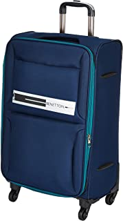 United Colors of Benetton Polyester 60 cms Navy Softsided Check-in Luggage (0IP6EAS24F02I)