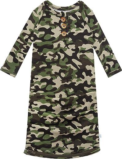 ملابس الأطفال الناعمة من Posh Peanut لحديثي الولادة للأولاد - فيسكوز من Bamboo Infant Layette ملابس لف