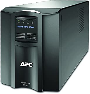APC 1500VA Smart UPS with SmartConnect, SMT1500C Sinewave UPS Battery Backup, AVR, 120V, Line Interactive Uninterruptible ...