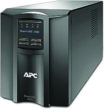 APC 1500VA Smart UPS with SmartConnect, SMT1500C Sinewave UPS Battery Backup, AVR, 120V, Line Interactive Uninterruptible Power Supply