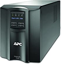 APC 1500VA Smart-UPS with SmartConnect, Pure Sinewave UPS Battery Backup, Line Interactive, 120V Uninterruptible Power Supply (SMT1500C)