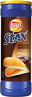 Lay's Stax, Mesquite Barbeque, 5.5-Ounce Containers (Pack of 17)