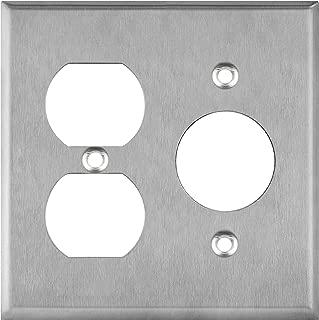 ENERLITES Combination Duplex Outlet/Single Receptacle 1.406