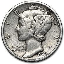 1942 S Mercury Dime Good/VF Dime Good