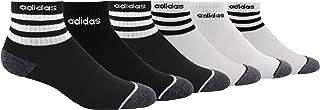 adidas Kids' - Boys/Girls 3-Stripe Quarter Socks (6-Pair)