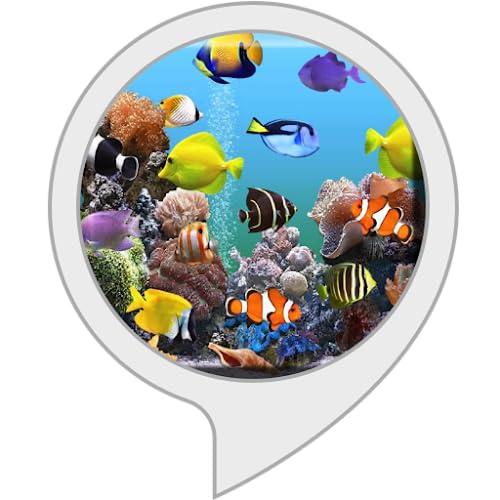 Fisch Aquarium für Echo Show, Echo Spot