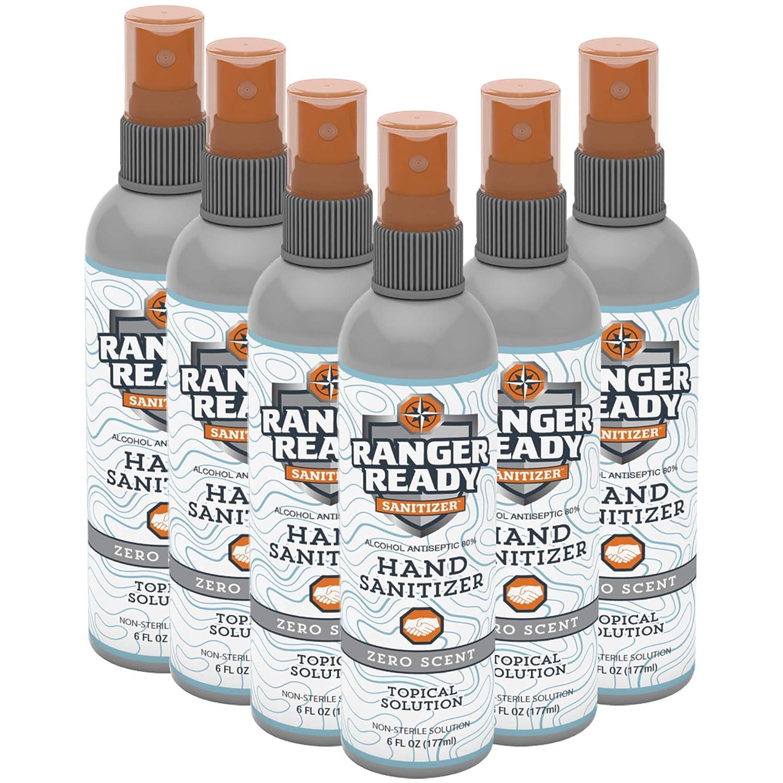 Ranger Ready Alcohol Import Hand Sanitizer Travel Pump New Orleans Mall Spray Fine-Mist
