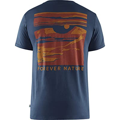 Fjallraven Tornetrask T-Shirt (Navy) Men