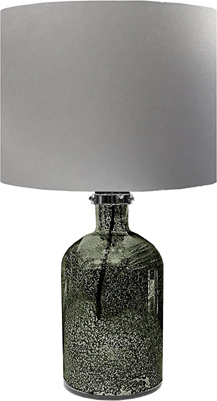 Urban Shop Mercury Lamp Silver