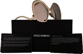 e50fa1e055e5 Dolce & Gabbana DG2180 Sunglasses Gold w/Brown Mirror Lens 57mm 025A DG 2180