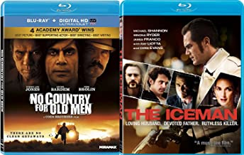 The Iceman & No Country For Old Men [Blu-ray] Bundle Double feature Killer Set
