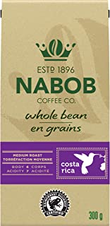 Nabob Costa Rica Whole Bean Coffee, 300g (Pack of 6)