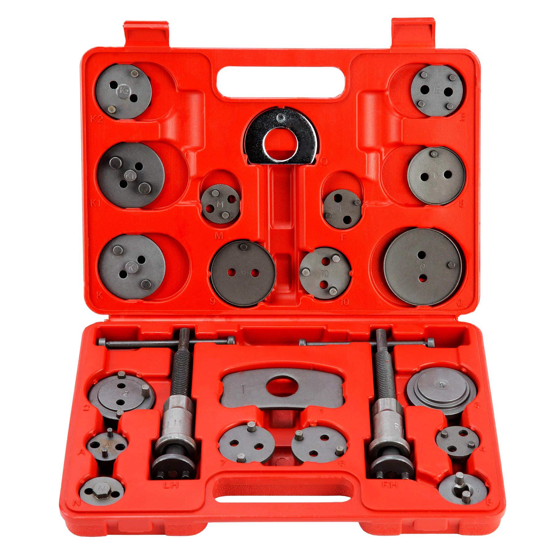 Brake Caliper Press Tool,ANTFEES Car Ratchet Brake Piston Caliper Wrench Spreader Tools Universal Brake Caliper Press Separator Pad