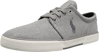 POLO RALPH LAUREN Men's Faxon Low Fashion Sneaker, Loden, 8 D US