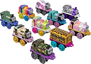 Thomas & Friends MINIS Toy Trains 10-Pack of female characters with stylish designs, multicolor (GFX17)