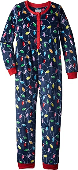 Get Lit Family Long Sleeve One-Piece Pajama (Toddler/Little Kids/Big Kids)