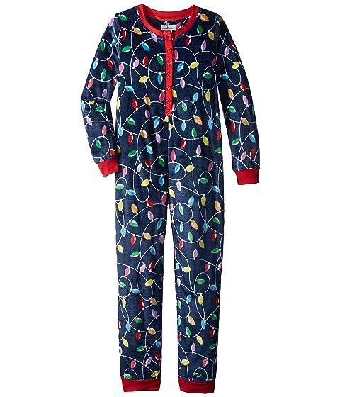 Get Lit Family Long Sleeve One-Piece Pajama (Toddler/Little Kids/Big Kids)
