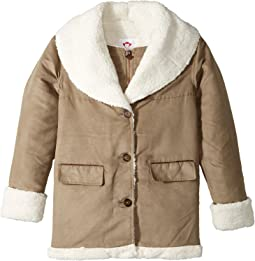 Ultra Soft Faux Suede Hemlock Jacket (Toddler/Little Kids/Big Kids)