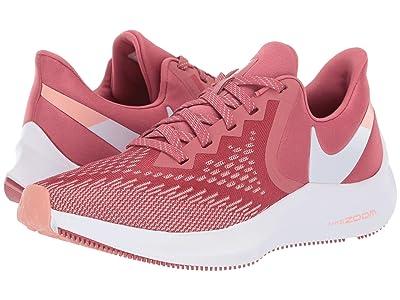 Nike Zoom Winflo 6 (Light Redwood/White/Pink Quartz) Women
