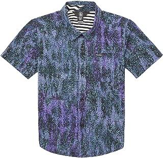Klasey Short Sleeve Button Up Shirt Little Boys