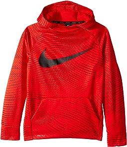 Nike Kids - Therma Training Printed Pullover Hoodie (Little Kids/Big Kids)