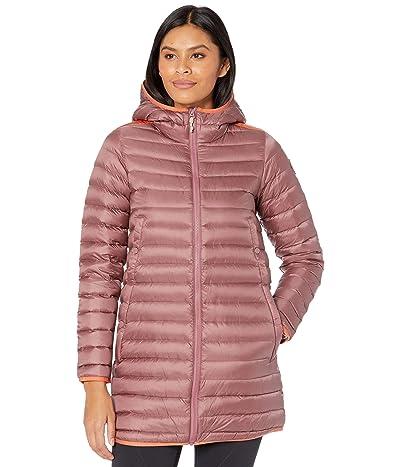 Burton Evergreen Long Down Jacket (Rose Brown/Burnt Ochre) Women