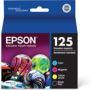 Epson T125120-BCS DURABrite Ultra Black and Color Combo Pack Standard Capacity Cartridge Ink