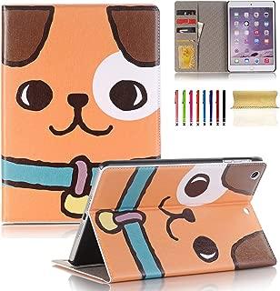 Casii iPad Mini 1/2/3 Case 7.9 inch,Ultra Slim Lightweight Smart Case Flexible PU Leather Cover with Auto Sleep/Wake Card Slots Wallet Pocket for iPad Mini 1/Mini 2/Mini 3 - Dog