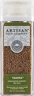 SaltWorks Yakima Applewood Smoked Sea Salt, Artisan Shaker Jar, 3.5 Ounce