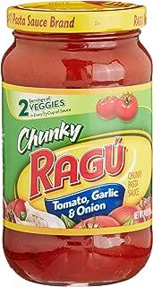 Ragu Chunky Tomato, Garlic & Onion Pasta Sauce (14 oz. jar)