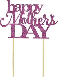 All About Details Pink Happy Mother's Day Cake Topper