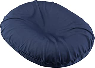 BodyHealt Donut Seat Ring Cushion Comfort Pillow for Hemorrhoids, Coccyx, Prostate, Pregnancy, Post Natal Pain Relief, Surgery (Navy, 18 Inch)