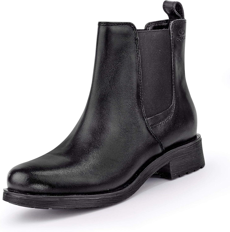Geox Damen Damen Stiefeletten D846RA-000TU C9999 schwarz 559323  fabrik direktverkauf