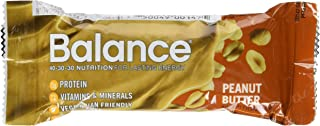 Balance Bar, Healthy Protein Snacks, Peanut Butter, With Vitamin A, Vitamin C, Vitamin D, and Zinc to Support Immune Healt...