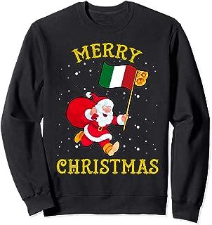 Santa Italy Merry Christmas Xmas Sweatshirt