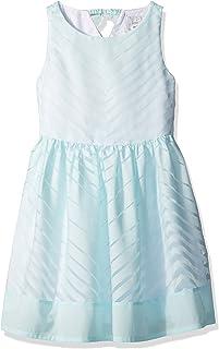 Gymboree Girls' Big Mint Chevron Dress
