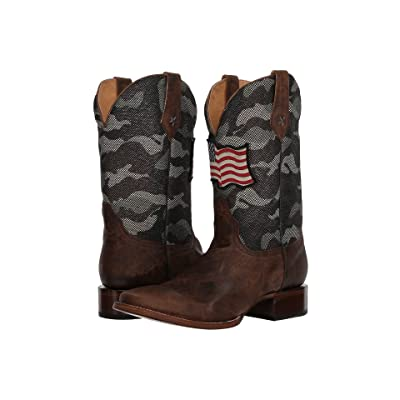 Roper American Camo (Brown Leather Vamp) Cowboy Boots