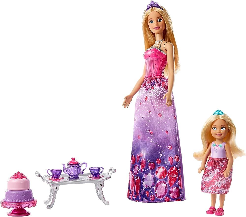 Mattel ,le sorelle barbie e chelsea FPL88