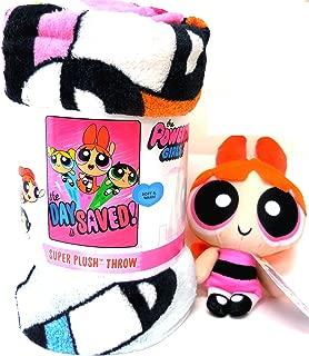 Powerpuff Girls Micro Raschel Throw Blanket, 46