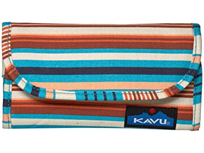 KAVU Big Spender (Cascade Stripe) Wallet Handbags