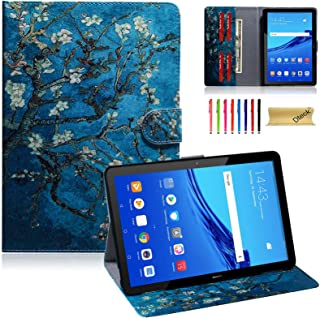 Dteck Wallet Case for Huawei MediaPad T5 10 Case, PU Leather Folio Stand Protective Tablet Cover for Huawei Mediapad T5 10...
