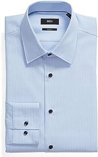 Men's Jano Slim Fit Light Blue Dress Shirt