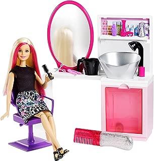 Best barbie sparkle style salon & blonde doll playset Reviews