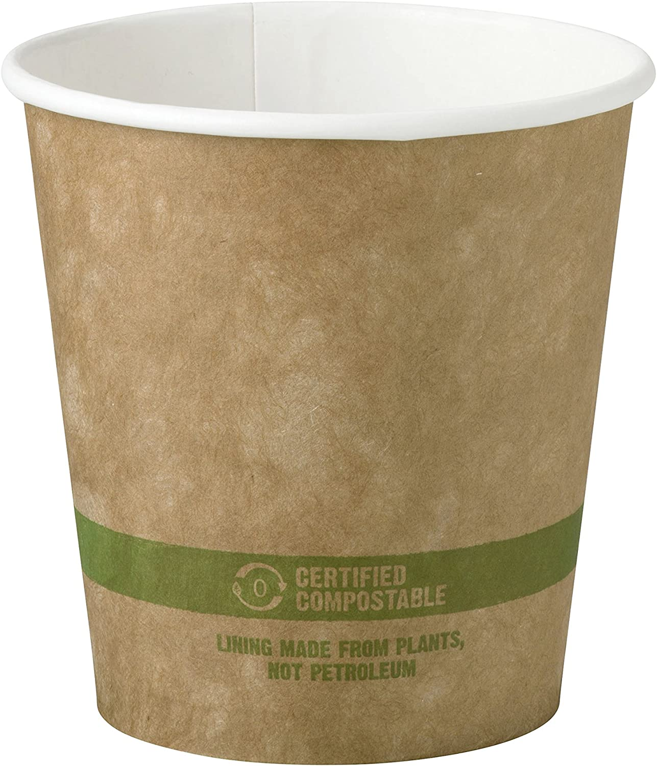 World Centric CU-PA-10-K 100% Compostable FSC Mix Paper Hot Cups, 10 oz, Kraft (Pack of 1000)
