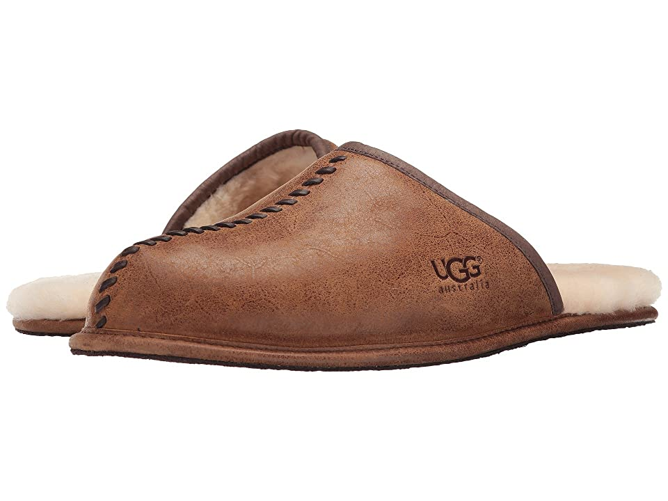 UGG Scuff Deco (Chestnut Leather) Men