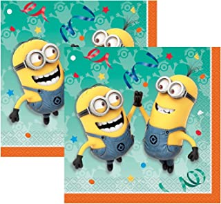 2-pack Despicable Me Minions Party Dinner 16ct Napkins (32 total)