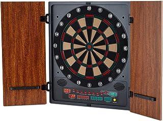 comprar comparacion Oneconcept Dartmaster 180 - Diana automática, Diana electrónica, Armario para Dardos, 8 Jugadores, Rival Virtual, Display ...